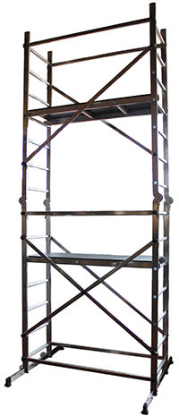 Small Aluminium Scaffold (4.5m) - AS 400